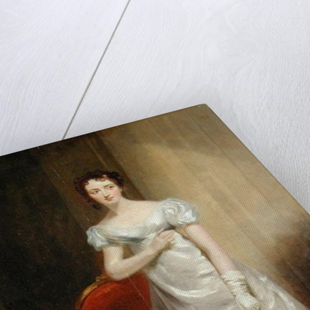 Harriet Smithson as Miss Dorillon by George Clint