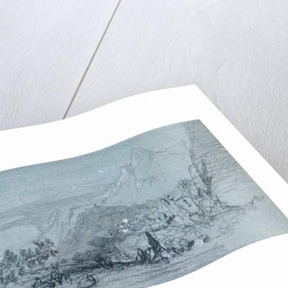 Taormina by Edward Lear