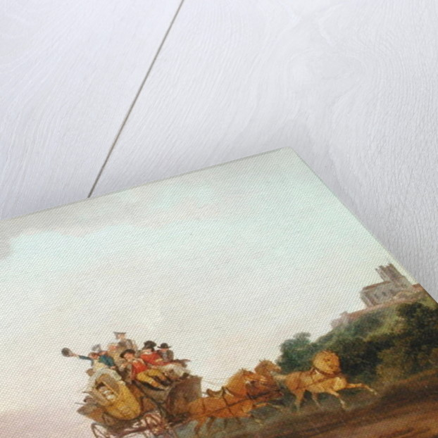 Revellers on a Coach by Philip James de Loutherbourg