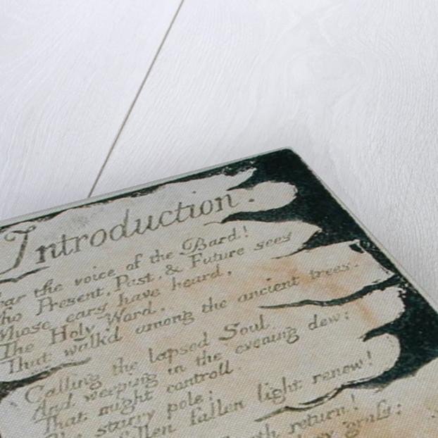Introduction by William Blake