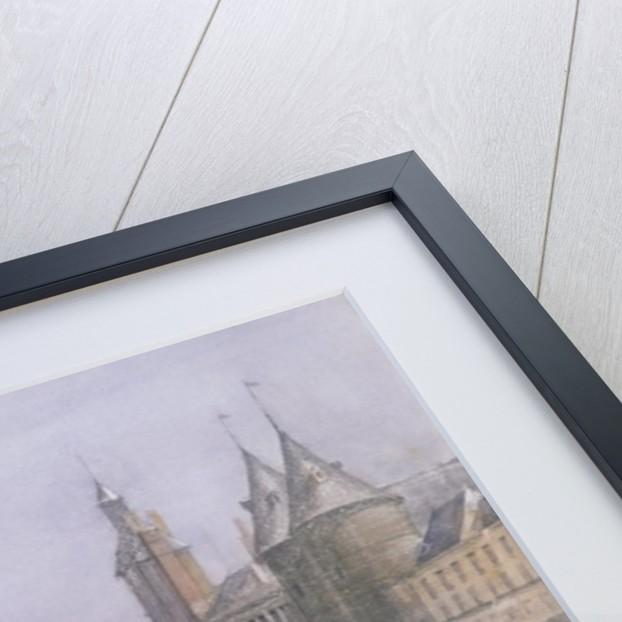 The Pont au Change and the Conciergerie, Paris by Richard Redgrave