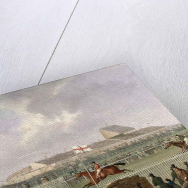 The Liverpool and National Steeplechase at Aintree by William Tasker