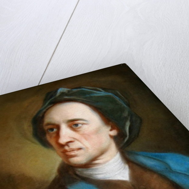 Alexander Pope by William Hoare