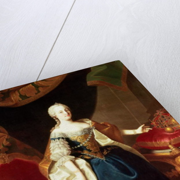 Portrait of the Empress Maria Theresa of Austria by Martin Mytens or Meytens
