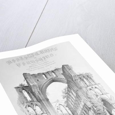 Rievaulx Abbey by William Richardson