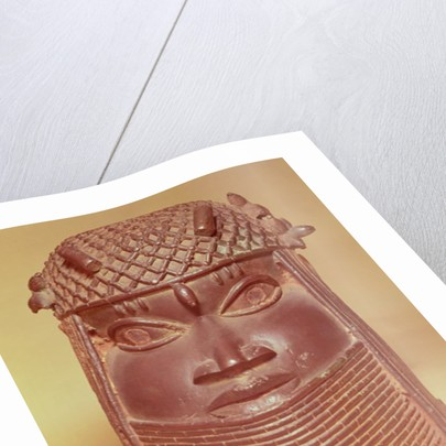 Benin mask by African School