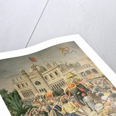 Exhibition of 1900: the Anglo-Indian Pavilion by French School