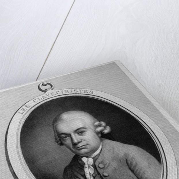 Portrait of Karl Philipp Emmanuel Bach by French School
