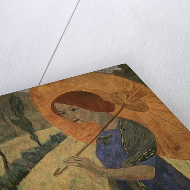 Madame Serusier with a Parasol, 1912 by Paul Serusier