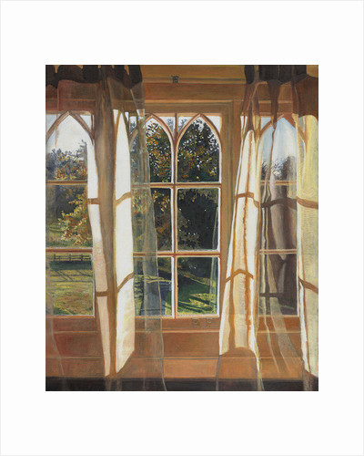 The yellow window by Helen White