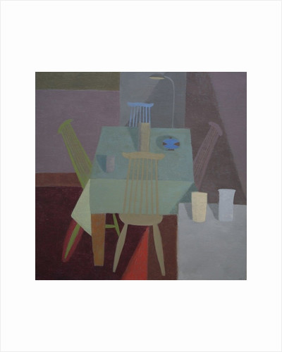 Coloured Chairs by Mary Mabbutt
