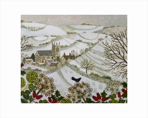 Church in the Valley,Winter by Vanessa Bowman