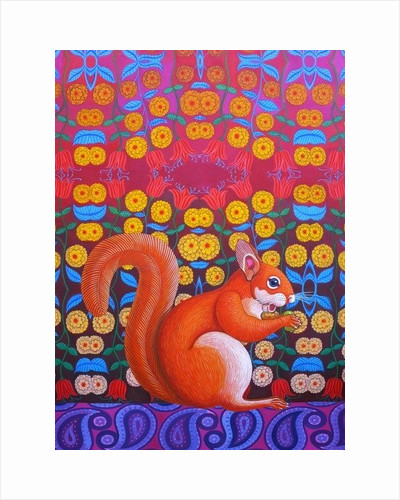 Red Squirrel by Jane Tattersfield