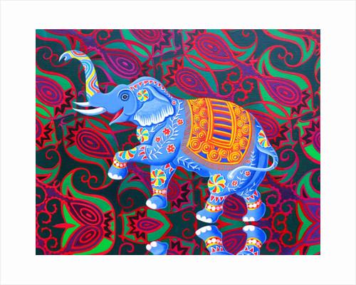 Indian Elephant, 2016 by Jane Tattersfield