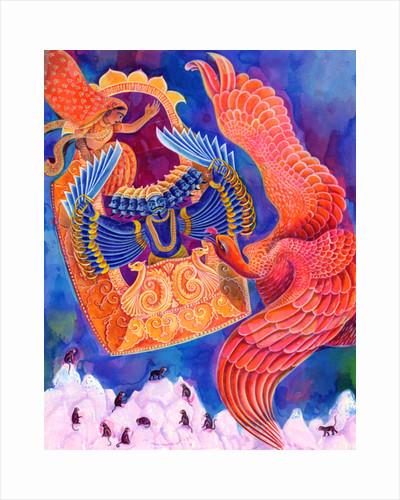 Ram and Sita, 1999 by Jane Tattersfield