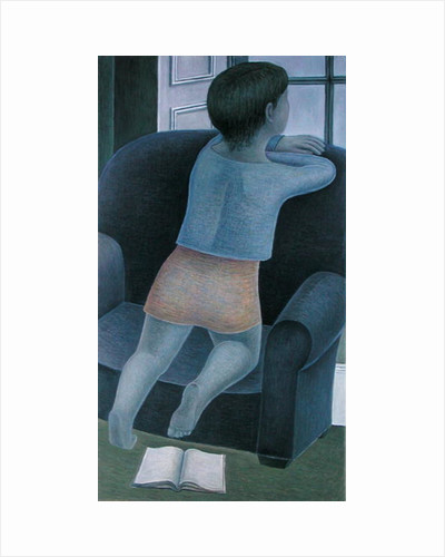 Girl on Chair by Ruth Addinall