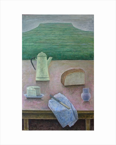 Still Life with Wensleydale Cheese by Ruth Addinall