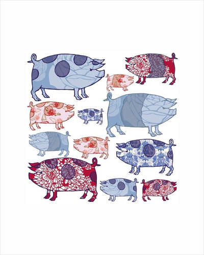 Piggy in the Middle by Sarah Hough