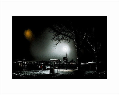 Winter Night on the Thames Path by Alice Gur-Arie