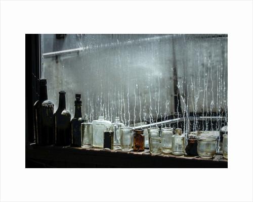 Toby's Bottles (Rain shower) by Alice Gur-Arie