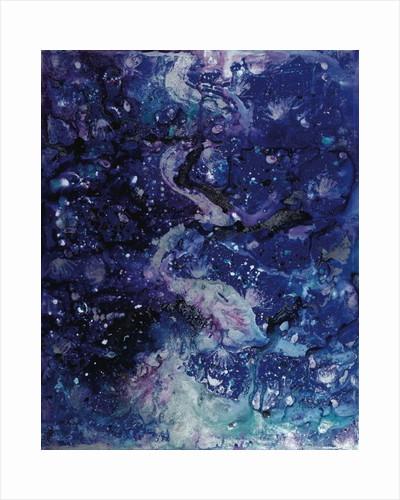 Cerulean Shorelines by Carolyn Mary Kleefeld