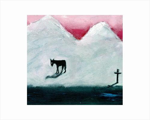 Donkey and Cross by Gigi Sudbury