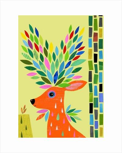 Magic Deer by Anne Vasko