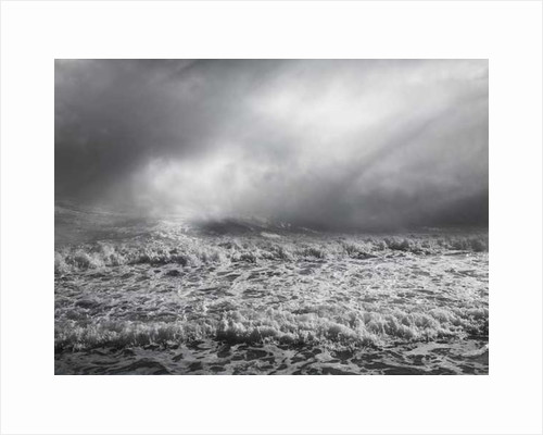 Rough Sea by Pat swain