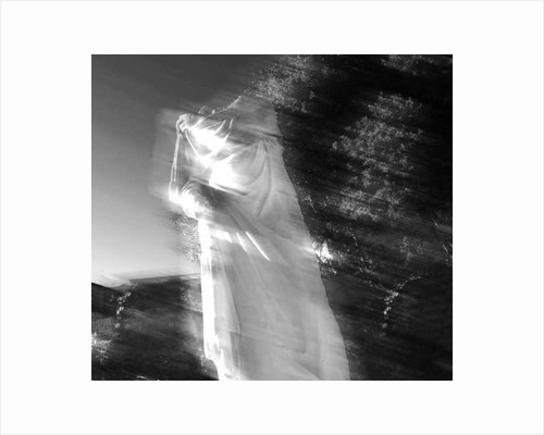Ghostly Roman Statue by Pat swain