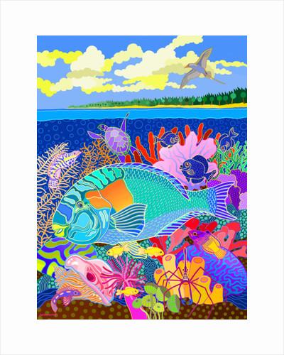 Coral Calm by Jan Barwick