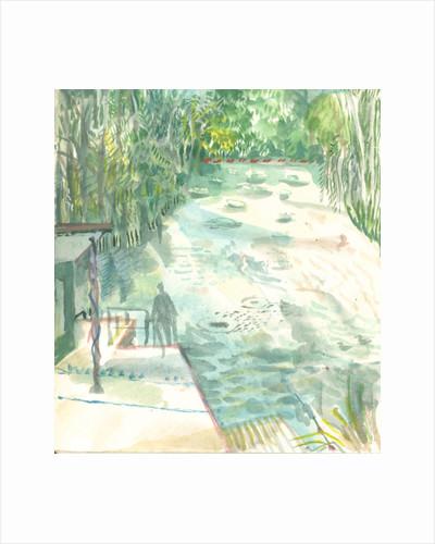Ladies Pond, Hampstead Heath by Mary Kuper