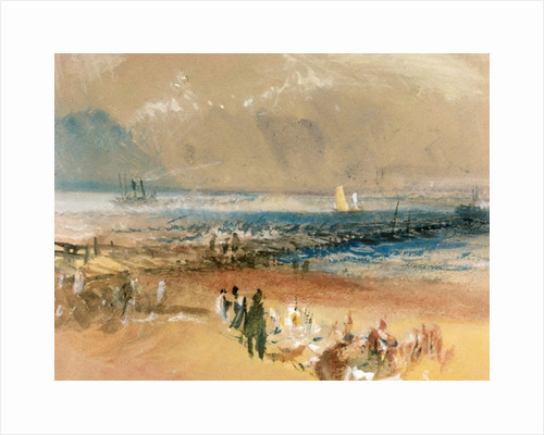 Boats at Margate Pier by Joseph Mallord William Turner