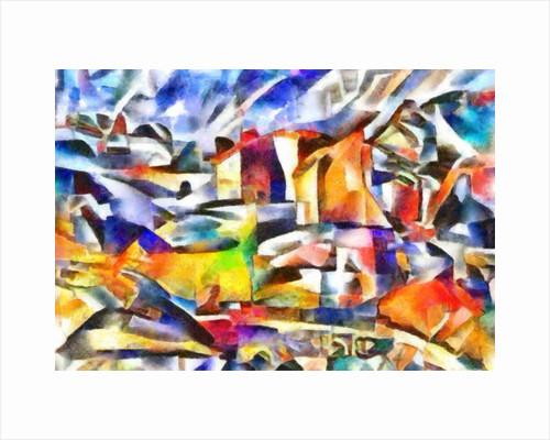 Sketch (landscape III), 2017 by Alex Caminker