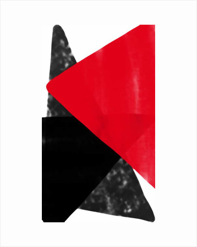 red triangle, 2017 by Alex Caminker