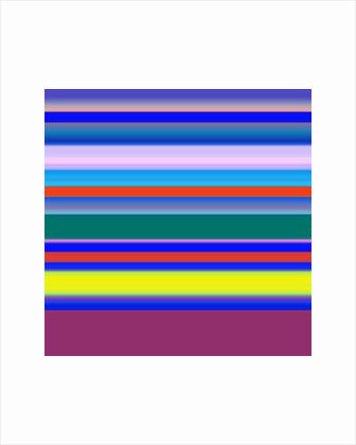 stripes-strings multicolours, 2019 by Alex Caminker