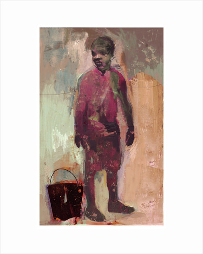 Boy and Water Bucket 2016 by David McConochie