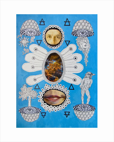Atomic Cosmos by Hazel Florez