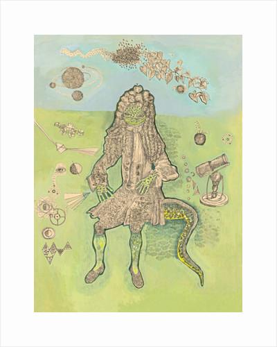 Isaac Newton by Hazel Florez