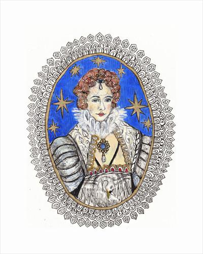 Queen of the Night by Hazel Florez