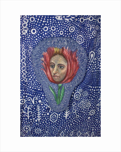 Flower Face, 2018 by Hazel Florez