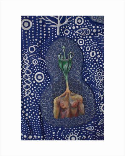Plant Head, 2018 by Hazel Florez