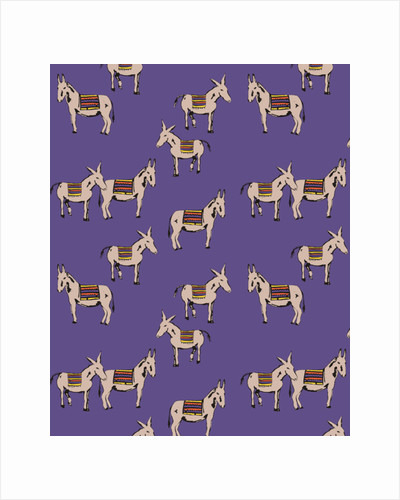 Donkeys, 2012 by Frances Gabinsky