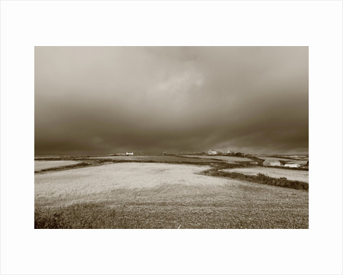 Cornish Field with Dark Sky, 2013 by Paul Gillard