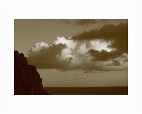 Cumulus Clouds with Cliffs, 2012 by Paul Gillard