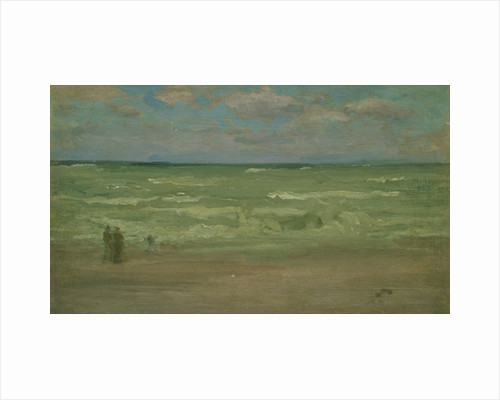 The Shore, Pourville, 19th century by James Abbott McNeill Whistler