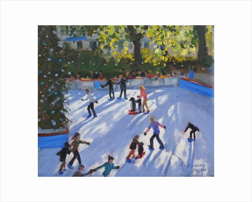 Ice skating, Natural History Museum by Andrew Macara
