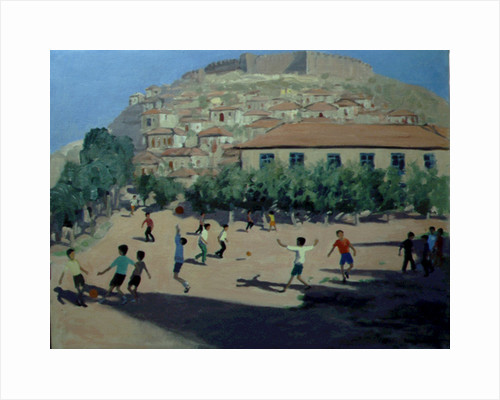 Football, Lesbos, 1998 by Andrew Macara