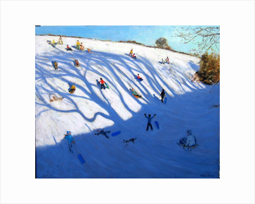 Shadows on a hill, Monyash by Andrew Macara