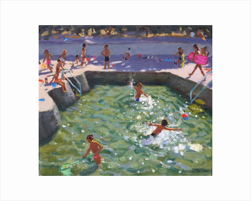 Childrens pool, Vrsar, Croatia, 2017 by Andrew Macara