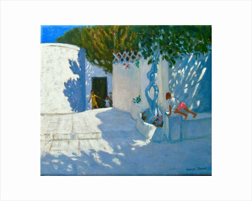 Hide and seek, Mykonos, 2012 by Andrew Macara
